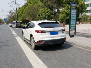白色轿跑SUV——马自达CX4