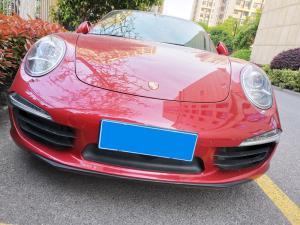 红色保时捷911跑车Carrera 4S