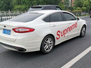 """福特车上贴""""Supreme车贴"""",是潮酷还是土逼?"""