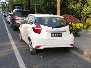 未上牌的一汽丰田威驰新车