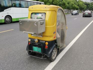 带尾箱的三轮老年代步车(2张)